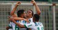 Zagueiro cortado de voo da Chape faz o gol do título da Série B