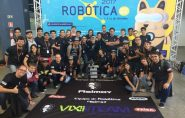 Alunos do Ifes de Colatina são premiados em competição de robótica