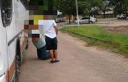 Pacientes de Ecoporanga esperam por 7 horas em ônibus quebrado em Vitória e reclamam da precariedade dos veículos da saúde