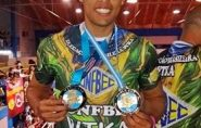 Lucas Neves é campeão em duas modalidades na Argentina e leva o Brasil ao topo do pódio
