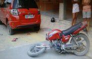 Gordinho furta moto de francisquense, se envolve em acidente e vai parar no hospital antes de ser preso em Mantena