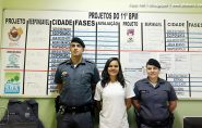 Minha Vocação Profissional: 11º Batalhão em Barra de São Francisco recebe estudante que deseja ser Policial Militar