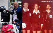 Francisquense Saulo Brito relembra encontro com árbitro Arnaldo Cezar Coelho, na década de 80, em Barra de São Francisco