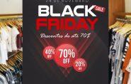 Black Friday Estação da Moda: peças com até 70% de desconto