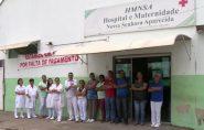 Funcionários de hospital em Montanha estão em greve há uma semana