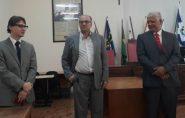 Dois novos advogados receberam sua carteira da OAB em solenidade no fórum de Mantena