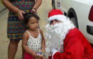 Ciclistas realizam o 2º Pedal Noel e distribuem presentes para crianças em Barra de São Francisco