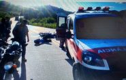Motociclista perde o controle e bate em caminhão na rodovia que liga Barra de São Francisco à Mantena