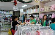 Vendas de Natal terão alta de 2,3%. Comércio de Barra de São Francisco e Ecoporanga estão aquecidos