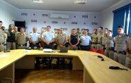 Comandante do 11º Batalhão da PMES retribui visita ao comandante do 6º Batalhão da PMMG em Valadares