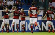 César pega pênalti, Vizeu faz dois gols e Flamengo está na final
