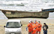 Barcos-fantasma com cadáveres intrigam Japão