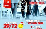Campanha de Natal: CDL de Ecoporanga sorteia 3 motos nesta sexta-feira (29)
