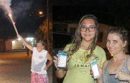 Moradores de Joassuba/Ecoporanga comemoram chegada do sinal de telefonia 3G