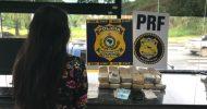 Adolescente é detida no ES com droga em ônibus que saiu de SP