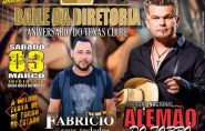 Baile da Diretoria: Aniversário do Texas Clube terá  Fabrício e Alemão do Forró