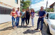 Funcionários da prefeitura atualizam cadastro de imóveis da área urbana de Vila Pavão