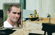 Prancha de granito cai sobre máquina e mata operador em Barra de São Francisco