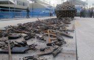 Tribunal de Justiça do ES manda destruir quase sete mil armas