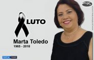 Morre em Mantena a conhecida Marta Toledo (Marta Salgados)