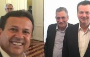 Gilberto Kassab é recebido no ES após PGR pedir novo inquérito para o investigar