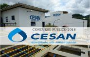 Cesan abre concurso público com salário de até R$ 3,1 mil