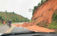 Chuvas intensas causam inundações e interdição de estradas  em Vila Pavão