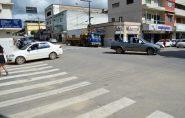 Políticos comemoram chegada do primeiro semáforo Ecoporanga