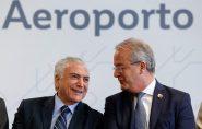 Hartung não comparece à cerimônia de inauguração do novo aeroporto de Vitória