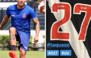 Capixaba Ramon vai usar a camisa 27 no Vasco em homenagem ao Espírito Santo