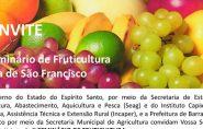 Barra de São Francisco vai sediar Seminário de Fruticultura