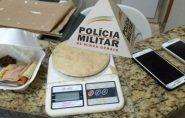 PM de Mantena combate o uso e o tráfico de drogas no bairro Vila Nova