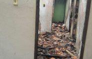 Inconformado com separação, homem ateia fogo na casa da ex-companheira, no interior do Espírito Santo