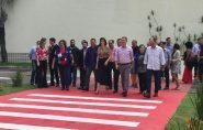 Calçada Cidadã é inaugurada no Shopping Vitória com 1,5 km de extensão