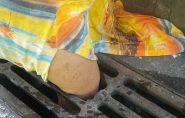 No Espírito Santo, cabeleireira cai em bueiro com tampa quebrada