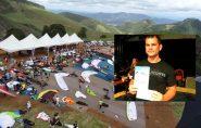 Policial morre ao cair de parapente durante campeonato no Noroeste do Espírito Santo