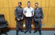 Sargento Fabiano, de Ecoporanga, recebe medalha