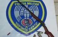 Três irmãos são detidos por porte ilegal de armas no Norte do ES