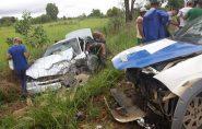 Acidente entre viatura da PM e carro de passeio deixa feridos no Norte do ES