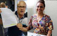 Vereador denuncia ex-secretária Agraciene por carga horária total de 50 horas em Barra de São Francisco e Águia Branca