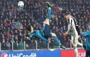 CR7 faz golaço de bicicleta e Real Madrid atropela a Juventus; vídeo