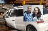 Um dia após casamento em Nova Venécia, casal sofre acidente na Bahia. Jovem morreu no local