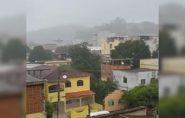 Dia permanece chuvoso em Barra de São Francisco