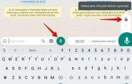 WhatsApp muda jeito de mandar áudio; conheça nova função