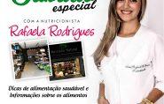 Nutricionista Rafaela Rodrigues dará dicas de alimentação saudável neste sábado no Mercado Natural