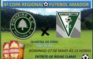 Pinheiros de Águas Claras enfrenta Rancho Fundo neste domingo pela Copa Regional de Futebol Amador