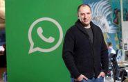 Jan Koum, criador do WhatsApp, vai deixar o Facebook