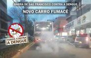 Novo fumacê!?  ônibus da Pretti vira piada entre internautas