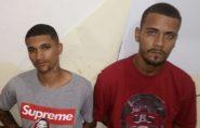 Polícia prende dois suspeitos de tráfico de drogas em Águia Branca