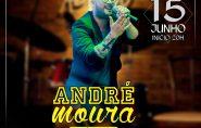 Nesta sexta-feira tem música ao vivo com André Moura no Restaurante Barra Grill